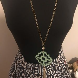 Jewelry - Long lucite Necklace